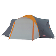 Coleman Cortes 6 Plus Tent (6 Person) - Grey/Orange