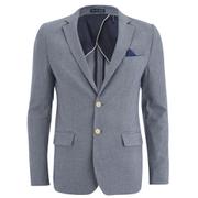 Scotch & Soda Men's Yarn Dyed Blazer - Grey