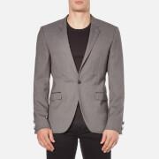 HUGO Men's Arenz Single Button Blazer - Grey