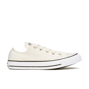 Converse Women's Chuck Taylor All Star Oil Slick Toe Cap Ox Trainers - Egret/Black