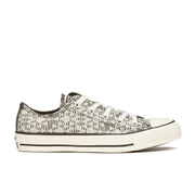 Converse Women's Chuck Taylor All Star Raffia Weave Ox Trainers - Parchment/Converse Natural