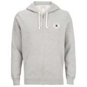Converse Men's Full-Zip Hoody - Vintage Grey Heather