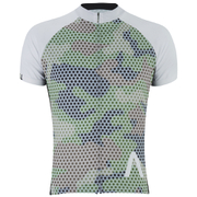 Primal Meshed Up Short Sleeve Jersey - Green
