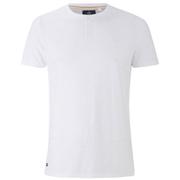 Threadbare Men's Oliver Grandad T-Shirt - White