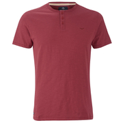 Threadbare Men's Oliver Grandad T-Shirt - Rust