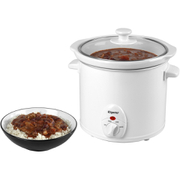 Elgento E16002 Slow Cooker - White - 3L
