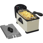 Elgento E17001CMOB Stainless Steel Fryer - Cream - 3L