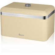 Swan SWKA1010CN Retro Bread Bin - Cream