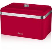 Swan SWKA1010RN Retro Bread Bin - Red