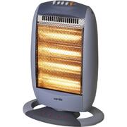 Warmlite WL42002 4 Bar Halogen Heater - Grey - 1600W