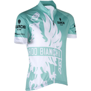 Bianchi Men's Cinca Short Sleeve Jersey - Green