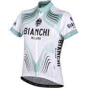 Bianchi Tuela Women's Short Sleeve Jersey - White/Green