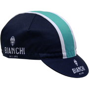 Bianchi Men's Neon Cotton Cap - Black/Green