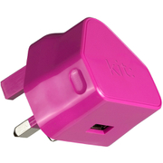 Kit USB 2.1A Eco Mains Charger - Pink