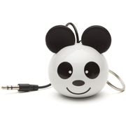 KitSound Mini Buddy Panda Portable Speaker - White