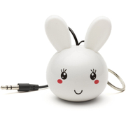 KitSound Mini Buddy Bunny Portable Speaker - White