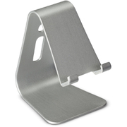 Tec+ Aluminium Smartphone Stand (Up To 11m Depth) - Silver