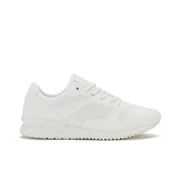 Crosshatch Men's Tricking Mesh Trainers - White