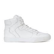 Supra Men's Vaider Leather High Top Trainers - White