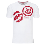 Crosshatch Men's Arowana Print T-Shirt - White