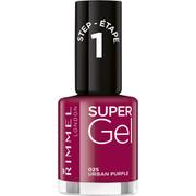 Rimmel Super Gel Nail Polish Duo Kit (2 x 12ml) - Urban Purple