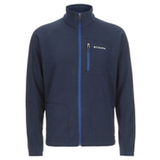 Columbia Men's Fast Trek II Fleece - Collegiate Navy