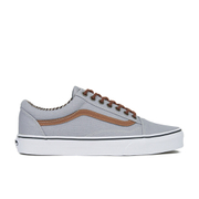 Vans Men's Old Skool C&L Trainers - Silver Sconce/Stripe Denim