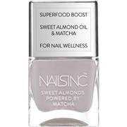 nails inc. Powered by Matcha Cornwall Gardens Sweet Almond Nail Varnish 14ml