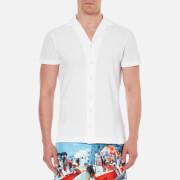 Orlebar Brown Men's Faine Short Sleeve Shirt - White