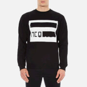 McQ Alexander McQueen Men's Logo Clean Crew Sweatshirt - Darkest Black