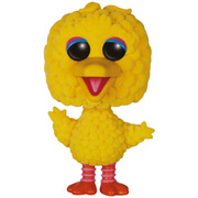 Sesame Street Big Bird Oversized Flocked Funko Pop!