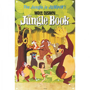 Disney Film Posters The Jungle Book Large Tin Sign