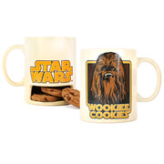Star Wars Wookie Cookies Mug with Cookie Holder