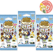 Animal Crossing amiibo Cards Triple Pack - Series 3