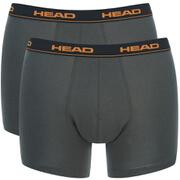 Head Men's 2-Pack Boxers - Charcoal