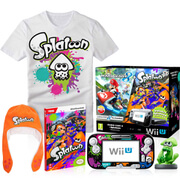 Wii U Mario Kart 8 + Splatoon Splat Pack