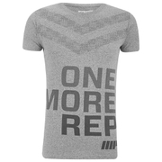 Myprotein Performance Slogan T-Shirt, Herr - Grå
