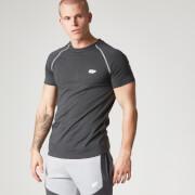 Myprotein Performance Männer T-Shirt mit Raglanärmeln- Schwarz