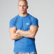 Ανδρικό T-Shirt Απόδοσης Myprotein με Μανίκι Ρεγκλάν – Μπλε