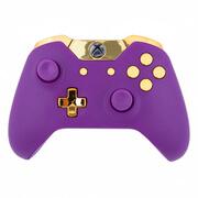 Xbox One Wireless Custom Controller - Matte Purple & Gold