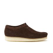 Clarks Originals Men's Wallabee Shoes - Dark Brown Suede