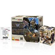 New Nintendo 3DS + Monster Hunter 4 Ultimate Pack + Monster Hunter Figures Plus Vol.1