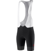 adidas Adistar Bib Shorts - Black/Vivid Red