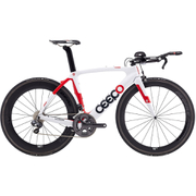 Ceepo Venom 105 Time Trial Bike - White/Red