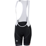 Sportful BodyFit Pro Womens Bib Shorts - Black/Grey/Pink