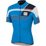 Sportful Gruppetto Pro Team Short Sleeve Jersey - Blue/Red