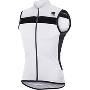Sportful Pista Sleeveless Jersey - White/Black