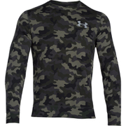 Under Armour Men's Storm Rival Fleece Printed Crew Sweatshirt - Green/Grey