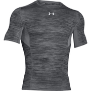 Under Armour Men's HeatGear CoolSwitch Compression Short Sleeve Shirt - Grey