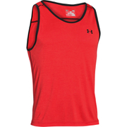 Under Armour Men's Tech Tank Top - Red/Black